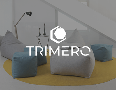 Trimero Living - Logo design and corporate identity