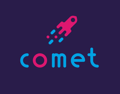 Comet Logotype and illustration