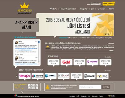 Sosyal Medya Ödülleri Web Site