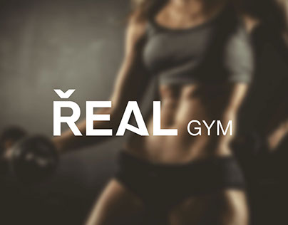 REAL gym - corporate identity