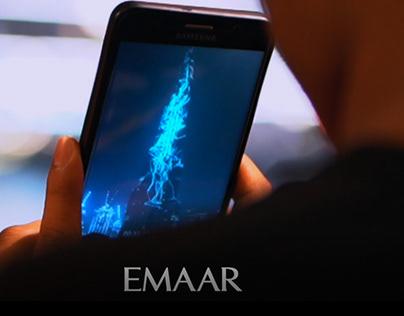 Burj Khalifa Light Show Animation - 'Sound Forms'