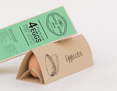 Eggscetra - an egg packaging