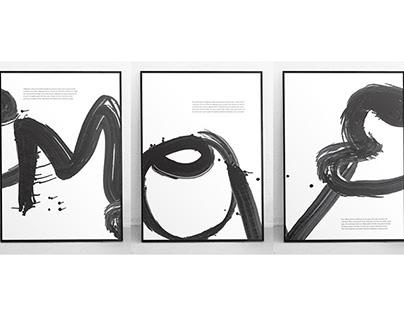 Shufa: A Creative Typeface Experiment