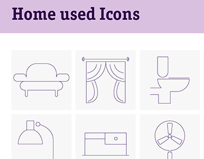 Home Used Icons