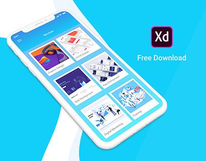 Creative Agency App