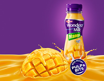 WONDERZ MILK - MANGO | CGI