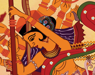 Durga Pujo 2015 Cover