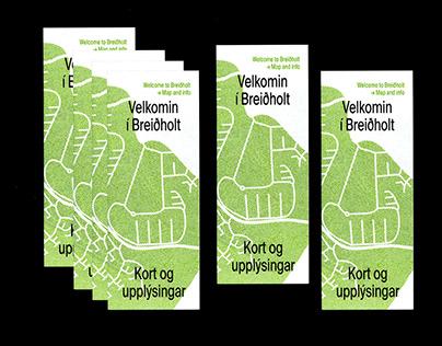 Map of Breiðholt.
