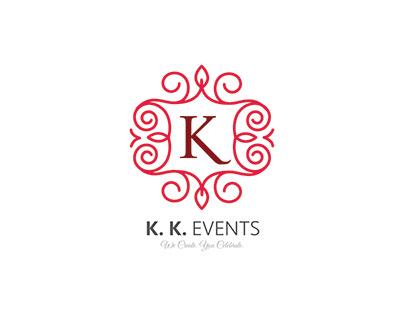 K.K.Event Logo Design