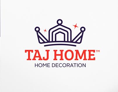 TAJ HOME Branding