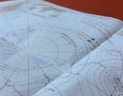First Russian Antarctic Expedition map