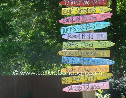 backyard daydreaming sign