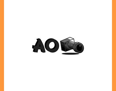AO media logo branding