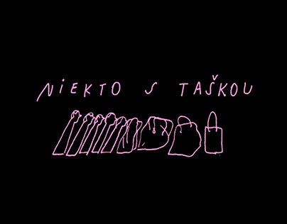 Niekto s Taškou // Someone With A Bag - zine