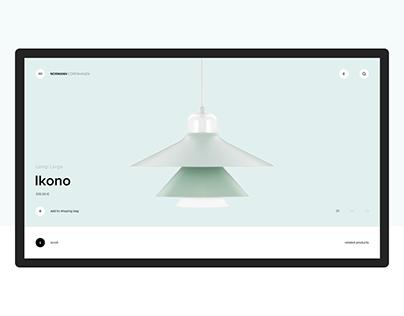 Normann Copenhagen   Website Redesign