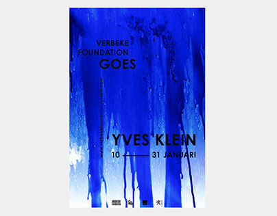 Yves Klein goes Verbeke Foundation