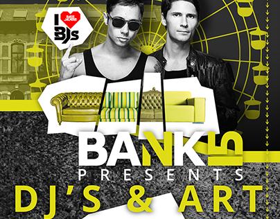 BANK15 Presents Bassjackers invitation