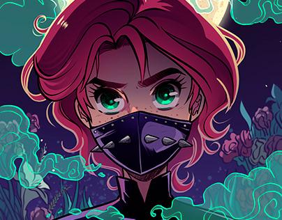 Loquita, the supernatural latina superhero