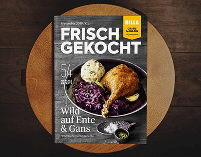 Frisch Gekocht – Editorial Design