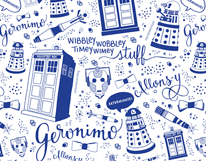 Pattern Design: The Doctor and Coordinates