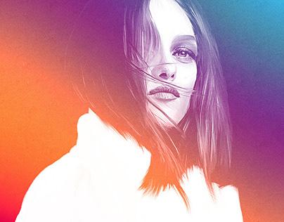 GRAPHIC DESIGN •Vanessa Paradis