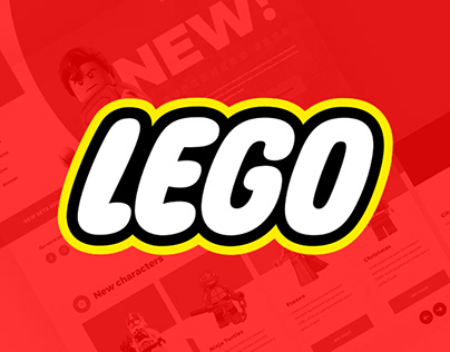 LEGO - Website Redesign