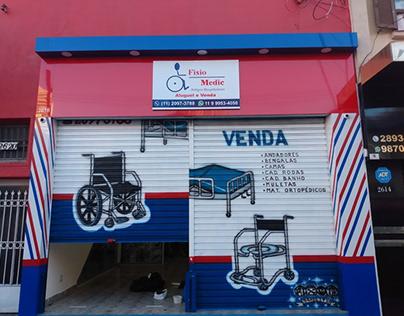 Criando uma loja com fachada em Acm exclusiva e atual
