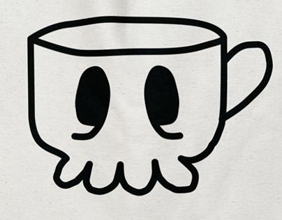 Death Before Decaf   Coffee Branding