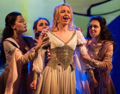 "Costume Elmina for musical ""Dracula Vlad"""