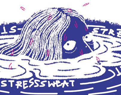 Rexona: Understanding Stress sweat !