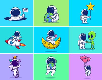 astronauts!! 🚀👨🏻🚀👽🪐