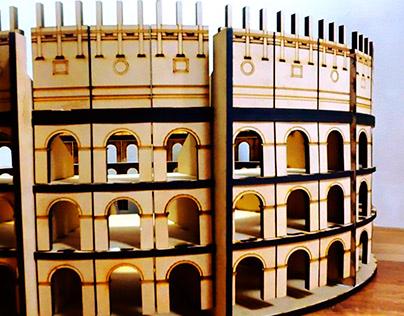 Coliseo Romano parametrico - 3D Puzzle