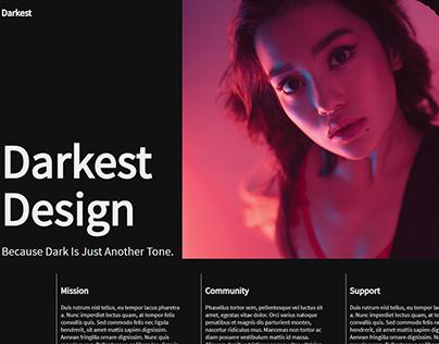 Web Design Header Demos #1