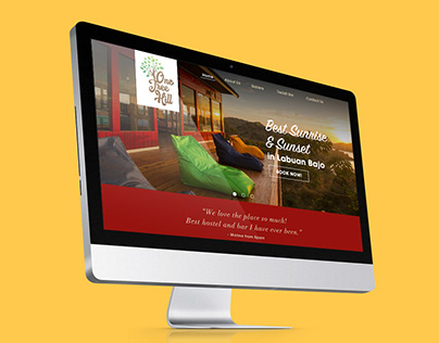 One Tree Hill Hostel Web Design