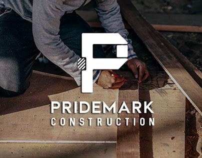 Pridemark Construction Identity Redesign