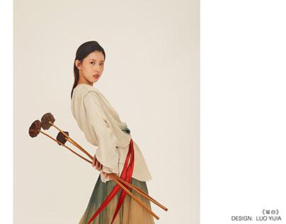 YIJIA FASHION DESIGN——《Leave blank》