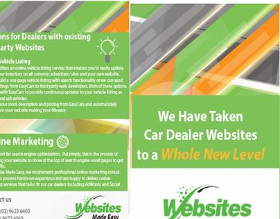 Brochure for Webdesign