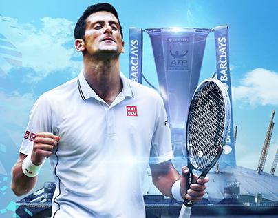 SET DESIGN - Sky Sport - ATP World Tour Finals - 2015