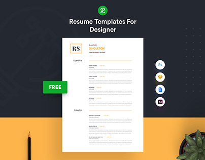 Corporate Resume Template Free Download