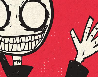 Kid Reaper Gig Poster