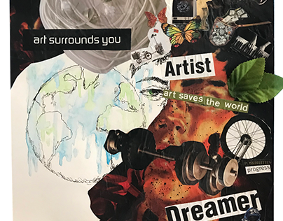 The Sustainable Artist Collage