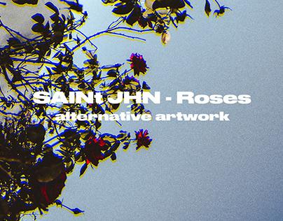 SAINt JHN - Roses / Alternative artwork