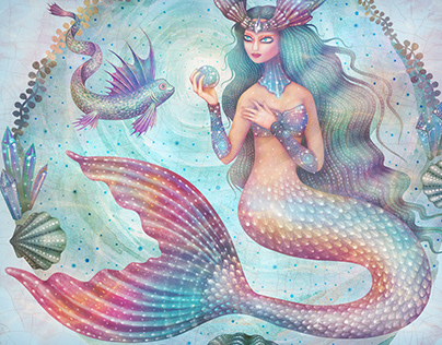 Magical Mermaids (Animated GIFs)