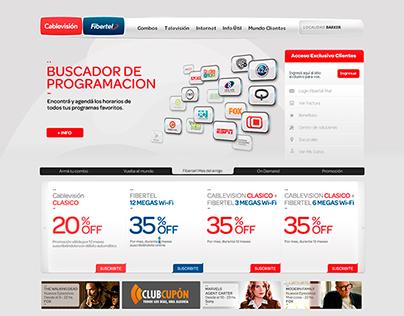 Cablevisión - Fibertel