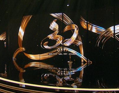 第32屆金曲獎 舞台視覺設計 GMA32 Stage Background Design