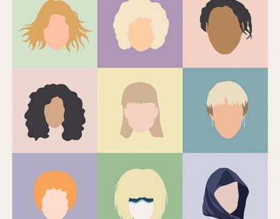 80s movie Icons... the women