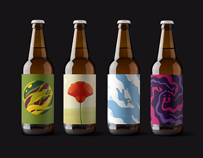 Bandit Brewery labels 2019