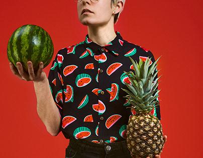 Watermelon VS Pineapple