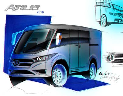 Facelift Atilis 2016 - Caio Induscar | Mercedes-Benz