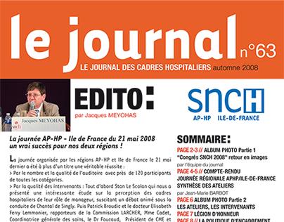 "Journal du syndicat ""SNCH"""